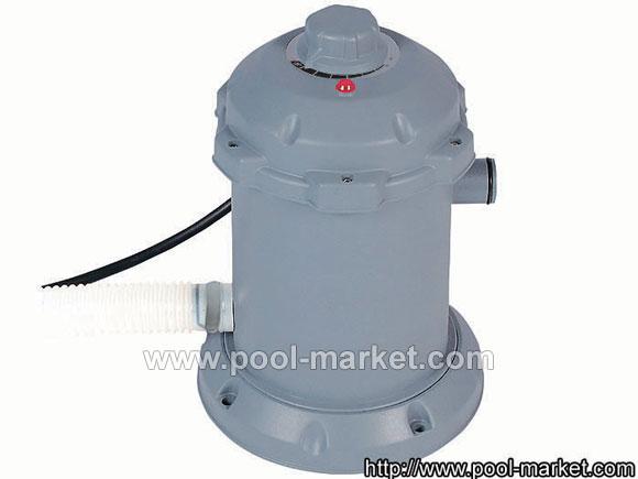 Электронагреватель воды для бассейна 58156. Мощность нагревателя 2950Вт.