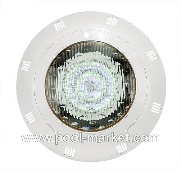 Прожектор светодиодный LED-P100 8w/12v c кабелем (2,5метра) , автоматическое изменение цвета. Есть модели под бетон и под лайнер