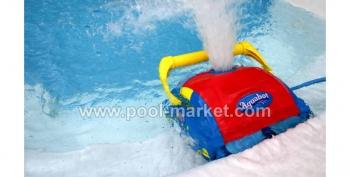 пылесос для бассейна Aquabot Viva в действии