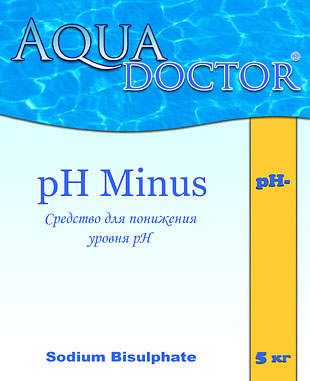 Aquadoctor pH minus pH-