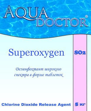 Aquadoctor SO2 дезинфекция на основе активного кислорода