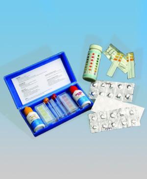 Краплинні тестери, таблеткові тестери для басейну, індикаторні тестери
